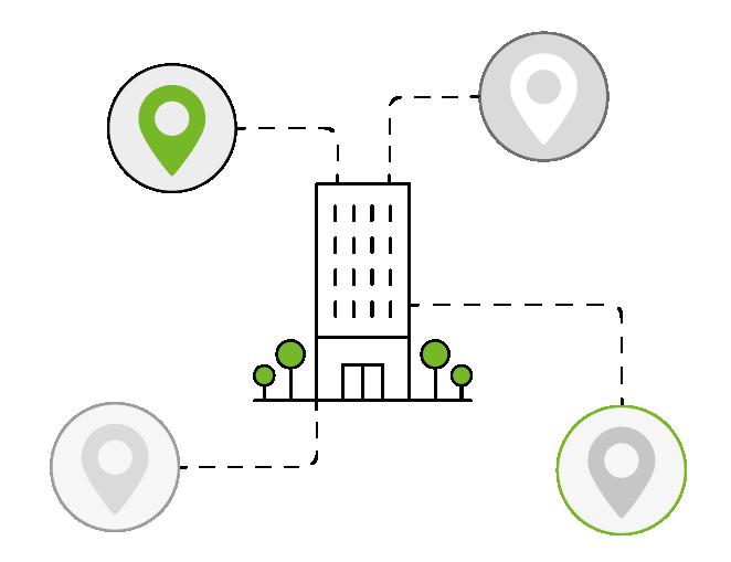Happÿdonia permite que los trabajadores de varias sedes de una empresa, interactúen y se conozcan