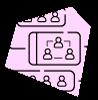 Chats grupales de empleados en Happÿdonia