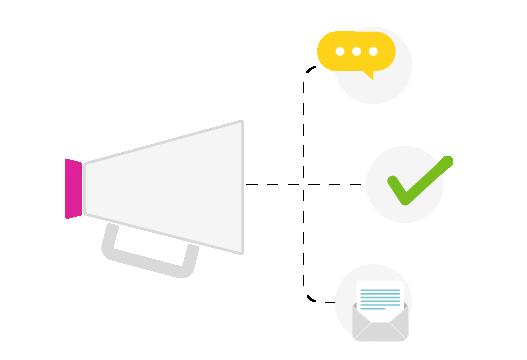 Happÿdonia canaliza el feedback de tu equipo de una forma activa y rápida.