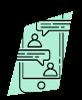 Crea grupos personales en la app de Happÿdonia