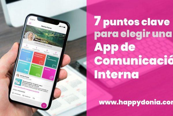 7 puntos clave para elegir una app de comunicación interna | Happÿdonia