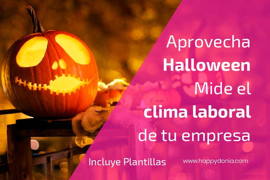 Aprovecha Halloween para tomar la medida de clima laboral de tu empresa – Incluye Plantillas