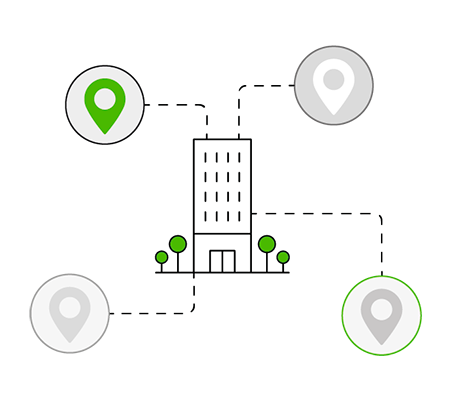 Mejorar la comunicación entre las sedes de una empresa.