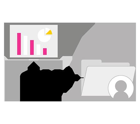 Gestión de nóminas, contratos y información personal de los empleados