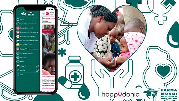 La ONG Farmamundi conectará a todo su equipo desde cual quier parte del mundo a través de Happÿdonia