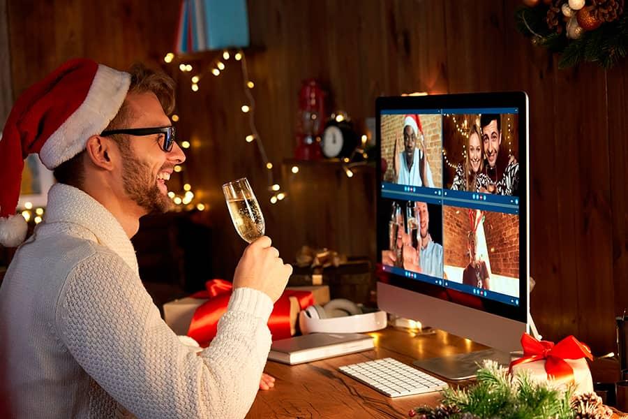 Cómo hacer tu cena de navidad de empresa virtual