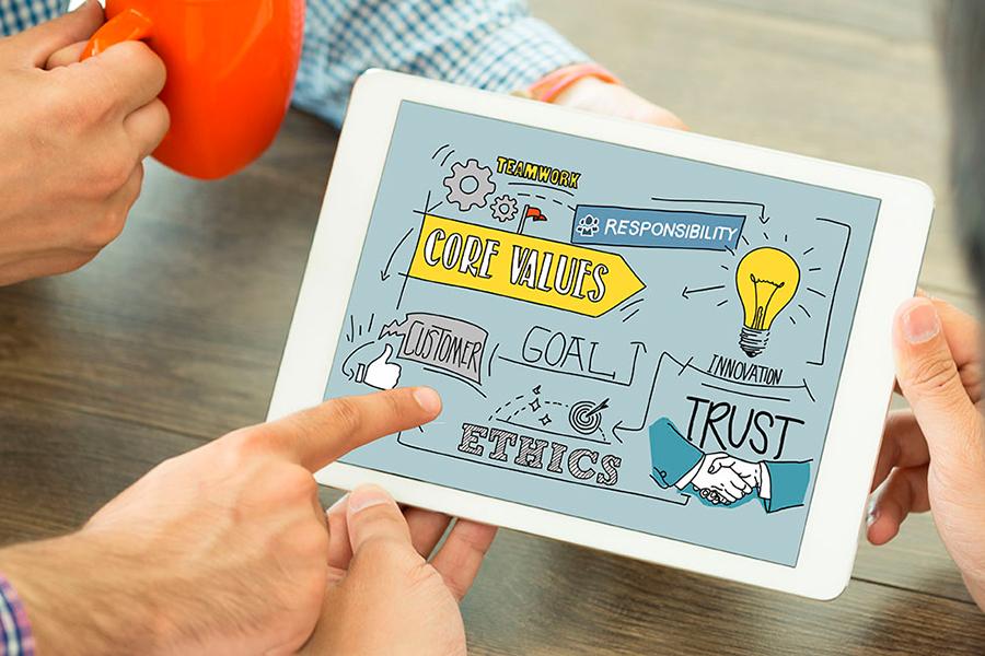 Comparte los valores de empresa: refuerza la cultura de la transparencia y la confianza