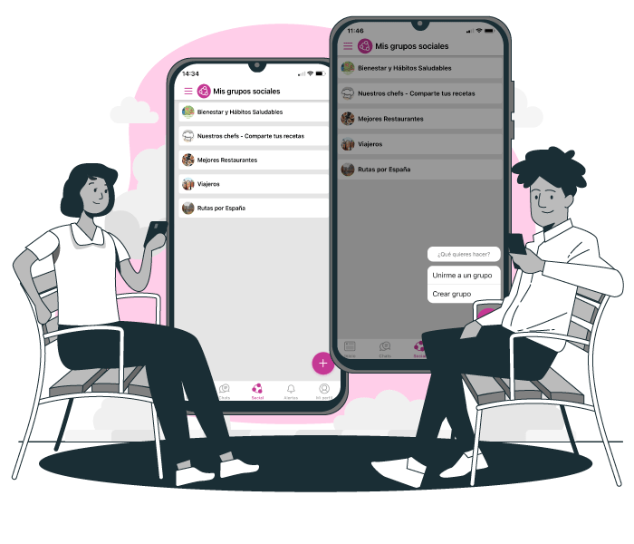 Happÿdonia is the perfect tool to communicate with all your workers.
